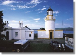 The lighthouse at Cromarty