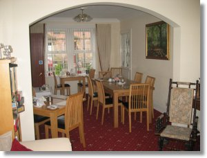 Mardon guest house, Inverness Scotland UK dining room