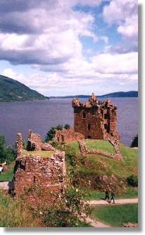 Urquhart Castle near Mardon guest house, Inverness Scotland UK